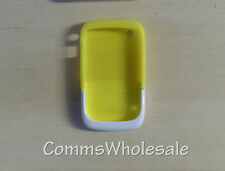 Genuine Blackberry ACC-32920-204 Yellow/White Premium Skin 9330 8520 9300 Curve