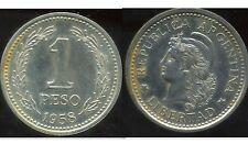 ARGENTINE 1 peso 1958  ( bis )