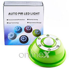 Sensor Movimiento PIR6 LED Light Motion Activado en 3 Canales FantasiaVerde a951