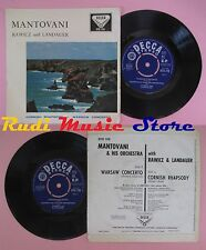 LP 45 7'' MANTOVANI ORCHESTRA RAWICZ LANDAUER Cornish rhapsody no cd mc dvd
