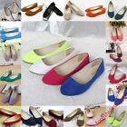 New Fashion Women's Casual Ballet  Flats Shoes Slip On Boat Loafers Single Shoes