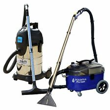 Aquarius Pro Valet Carpet Extraction Upholstery Cleaner & KV30PT Wet Dry Vacuum