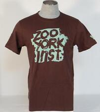 Zoo York Signature Brown Short Sleeve Tee T Shirt Mens Extra Large XL NWT