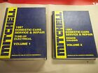 ! Mitchell 1987 Domestic Cars Service and Repair Manual Set