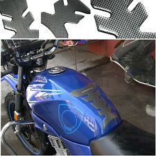 NEW Carbon Fiber Gel Autocycle Motorcycle Oil Fuel Tank Protector Sticker Decal