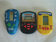 2 Electronic Handheld Games Yahtzee Big Screen Free Cell Radica MB