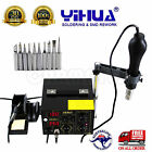 YIHUA 852D++ HOT AIR GUN HOLDER SOLDERING REWORK SMD STATION lead free ESD safe