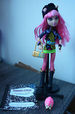 Monster high howleen wolf poupée journal support pet brush