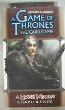A Game of Thrones The Card Game A Harsh Mistress Chapter Pack NEW Sealed