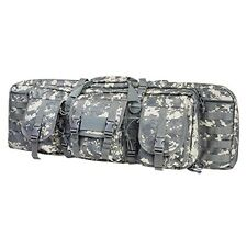 "NcSTAR Vism Tactical 36"" Padded Double Carbine Rifle Weapon Case Bag Digital"