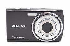 Pentax Optio E80 10MP 2.7'' SCREEN 3X DIGITAL CAMERA - BLACK