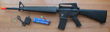 Full Metal Body & Gearbox M16 Airsoft Electric Gun Shoot Hard up to 400 FPS