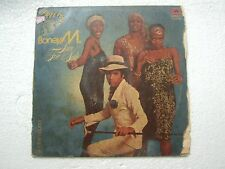 BONEY M LOVE FOR SALE INSIDE POSTER edition polydor RARE LP RECORD  INDIA VG+