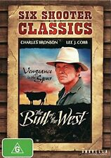 BULL OF THE WEST (1971 Charles Bronson) -  DVD - Region 2 UK Compatible