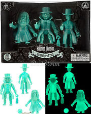 The Haunted Mansion 3 HITCHHIKING GHOSTS Action Figure GLOW IN DARK DISNEY STORE