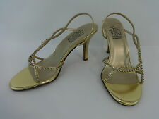 NEW Special Occasions by Saugus Shoe SUZETTE - 3860 Gold Metallic  Size: 7.5 W