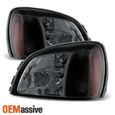 2000-2005 Cadillac Deville Smoked Replacement Headlights Left+Right 2001 2002