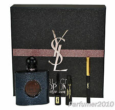 YSL Yves Saint Laurent Black Opium 50ml EDP & Mascara 2ml & Augenkonturenstift