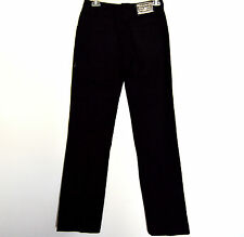 DOLCE and GABBANA Black women jeans new 36 Italy Insem 33,Mid-Rise, S, Straigh