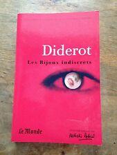 les bijoux indiscrets livre de Diderot le monde classique littérature érotique