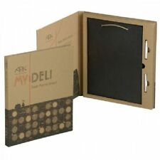 Arthur Price My Deli Slate Memo Board with Chalks Chalkboard Notice Memo Gift