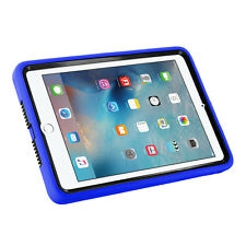 Blue Heavy Duty Shockproof Cover Palm Hand Strap For Apple iPad Mini 2 3 1 Case