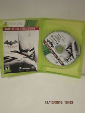 Batman: Arkham City Game of the Year Edition Xbox 360 New Xbox 360