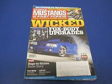 Muscle Mustangs & Fast Fords, September 2013,Wicked Fox-Body Upgrades LX 5.0