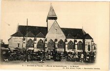 CPA SAINTE SAVINE - Le Marché Place de L'Église (179091)