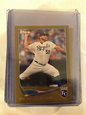 2013 TOPPS online Exclusive MINI Gold FELIPE PAULINO #159 ROYALS 11/62 Made