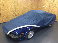 Triumph TR4-6 Indoor Car Cover BLUE Breathable Soft Lining Three Layer