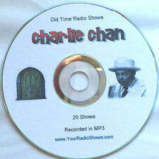 Charlie Chan 1 CD 20 Shows-Old Time Radio plus Bonus-Mystery Classic ONLY $3.99