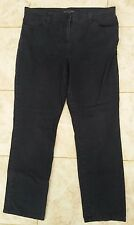 M&S Collection Ladies Size 16 M Navy Blue Straight Leg Jeans Marks & Spencer +