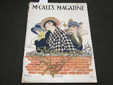 1915 MARCH MCCALL'S MAGAZINE - FASHION ILLUSTRATIONS - CUT OUT PAGE - ST 174