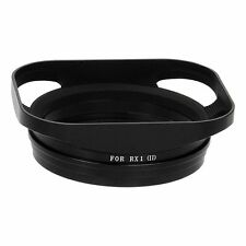 Fotodiox Pro Metal Bayonet Lens Hood for the Sony DSC-RX1 Digital Camera