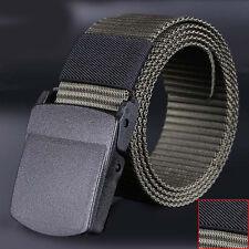 Hombres Salvajes Cinturón De Tela Hipoalergénica Libre de metales Plástico