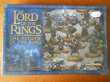 Mordor Orcs x 24 SEALED NEW IN BOX RARE lotr sbg lord of the rings warhammer