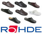 Rohde Shoes Indoor Slippers Men Clogs From Germany Many Colors & Sizes NEW