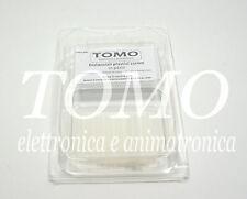 Distanziale plastico da 25mm blister da 10 pezzi codice 2004