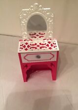 Mattel Barbie Doll House Furniture Vanity With Mirror Replacement Part