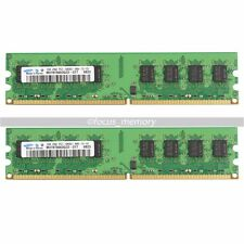 New Samsung 4GB 2x 2GB PC2-6400 DDR2-800MHZ Memory  DIMM Desktop RAM 240 PIN