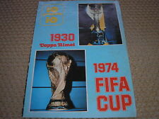1930 COPPA RIMET 1974 FIFA CUP SPECIALE WORLD CUP MONDIALI FOOTBALL CALCIO