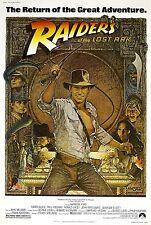Indiana Jones: Jäger des verlorenen Schatzes (1980) | Import Filmplakat, Poster