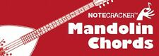 Notecracker Mandolin Chords Learn to Play Pocket Sized REFERENCE Music Cards