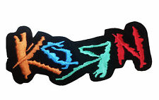 KORN Embroidered Rock Band Iron On or Sew On Patch UK SELLER Patches