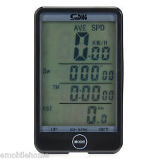SD - 576C Mode Touch Wireless Bike Computer Speedometer with LCD Backlight