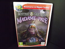 PC GAME Adventures et Hidden Objects Mystery Case Files Madam Fate