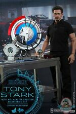 1/6 Iron Man Tony Stark with Arc Reactor Creation MMS Hot Toys