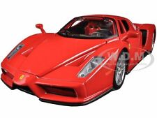 FERRARI ENZO RED 1/24 DIECAST MODEL CAR BY BBURAGO 26006