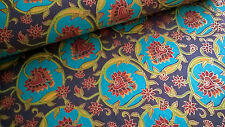 Indian Handmade Paper ~ Floral ~ Large Sheet 76 x 53cm ~ Cards, Wrapping, Art